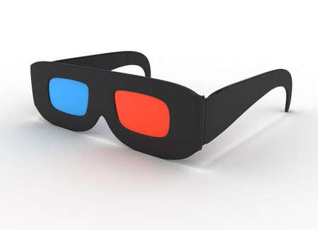 Glasses for 3d Stock Photo - 9357906