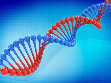 Fondo abstracto de código de ADN