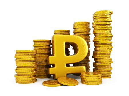 ruble: Ruble golden coins