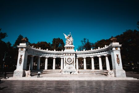 Hemicycle to Juarez in the Alameda Central of Mexico City. A place you can not miss, dedicated to one of the best presidents that the Mexican Republic had.