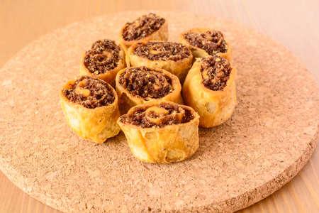 maharashtra: Bakarwadi, a fried and spicy spring roll, a popular snack in Maharashtra