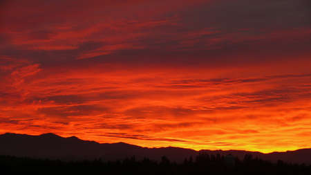 cascade: Sunrise over Cascade Mountains