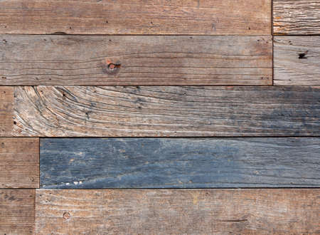 aged: Modern beautiful aged wooden fence colorful background Stock Photo