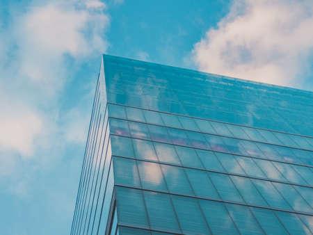 Wolkenkrabber Gebouwen en Sky View in Big City
