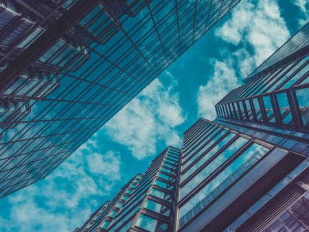 Wolkenkrabbergebouwen en Sky View