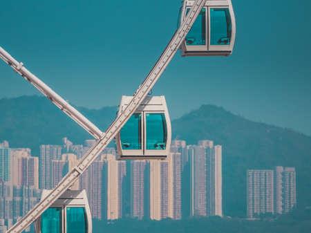 Wolkenkrabber gebouw en Sky View