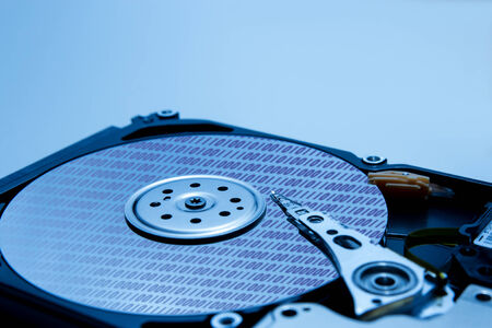 Harddisk Stock Photo