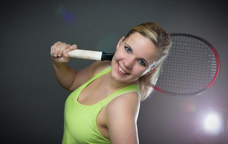 Female tennis player
