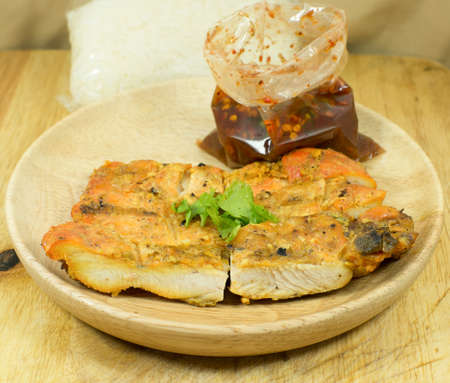 yang style: Grilled chicken