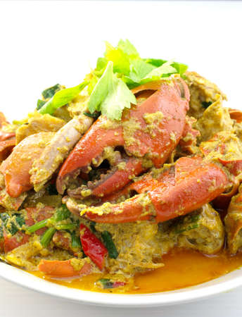 stirred: Stirred Fried Crab with Curry Powder