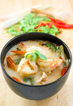 yum: Tom Yum Kung, Spicy thai traditional soup