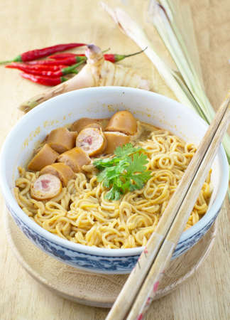 yum: Noodle with Tom Yum Soup