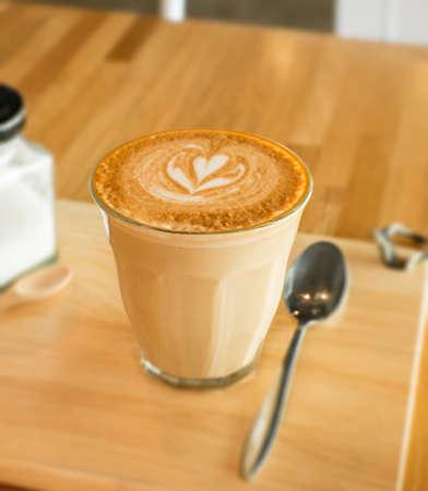 late: hot late art coffee