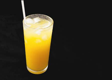 alcohol screwdriver: orange juice Stock Photo