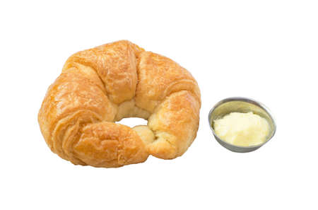 traditionally french: butter croissant