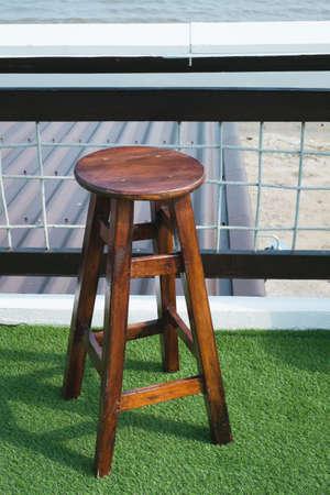 bar chair: wooden bar chair