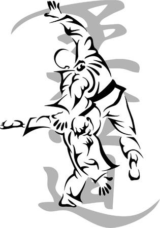 judo: Judo Vectores