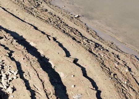 aquifer: receeding water supply Stock Photo