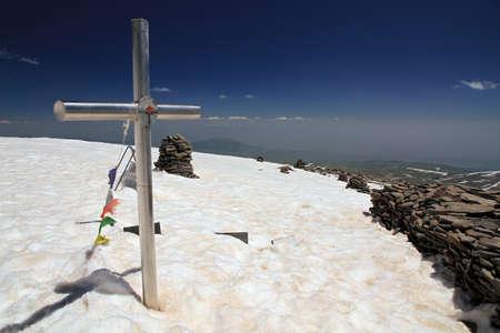 Mount Aragats, Lesser Caucasus, Aragatsotn Province, Armenia Stock Photo
