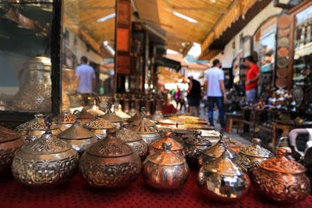 Street market, Sarajevo, Bosnia and Herzegovina