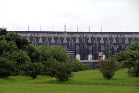 Itaipu Dam, on the Border of Brazil and Paraguay