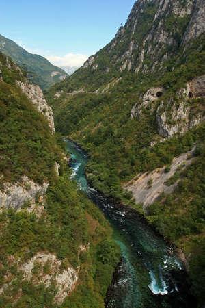 Canyon of Tara River, Montenegro