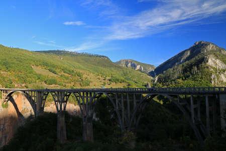 Tara Canyon, Montenegro 写真素材