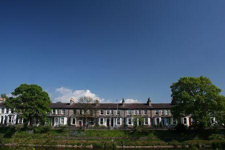 rij huizen: Engelse rij huizen