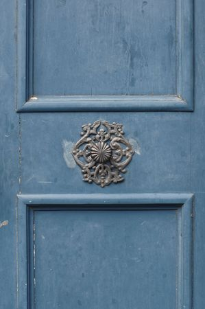 Beautiful old door knob   photo