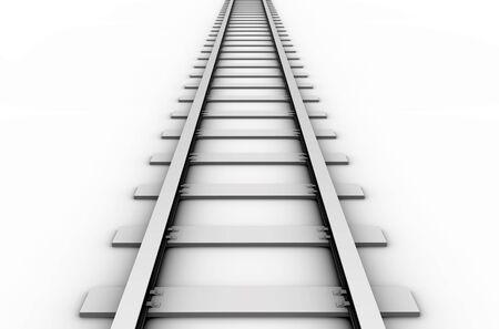 through travel: Railroad track