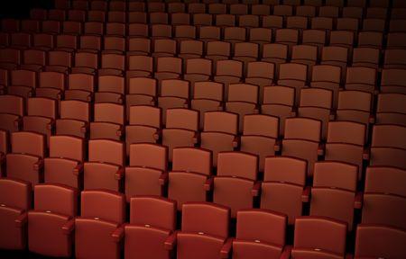 Auditorium; high quality 3D rendered illustration Stock Illustration - 6379513