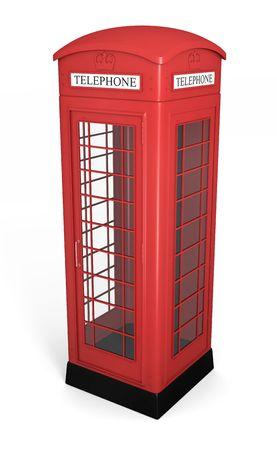 phone booth: British phone booth