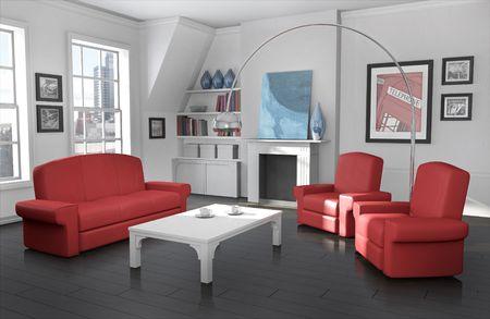 Cozy city apartment photo