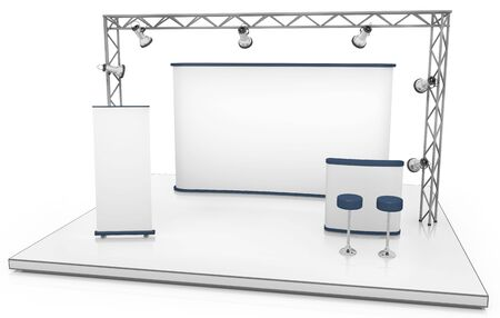 Exhibition stand Stock Photo - 7455945