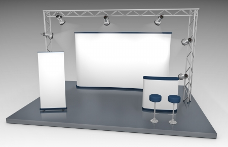 business exhibition: Trade Exhibition Stand