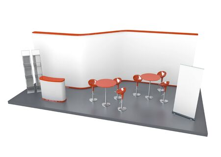 Trade Exhibition Stand photo