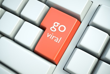 going: Viral marketing concept