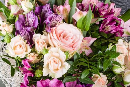 Closeup flower bouquet