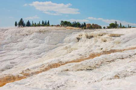 carbonates: pamukkale