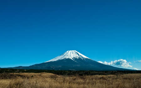 view to fuji mount in Japan photo
