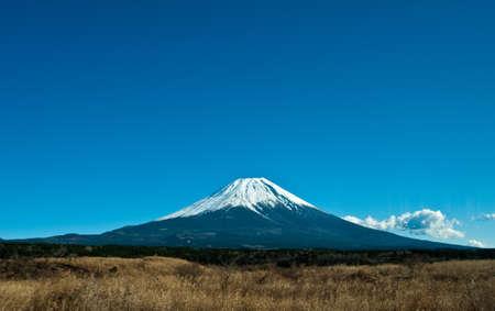 view to fuji mount in Japan