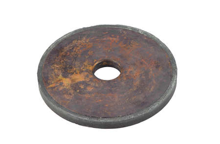 stone cutter: One diamond wheel on white background