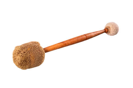 clang: Mallets Percussion isolated on white background Stock Photo