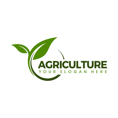 Agricultural seeds logo design template