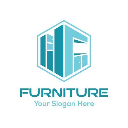 Ispirazione per il design del logo dei mobili