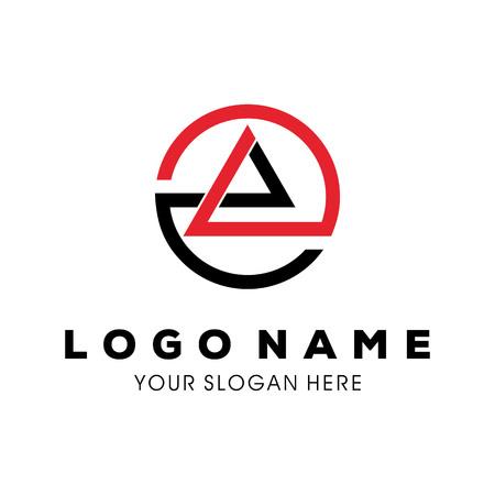 abstract symbol of mountain, template logo design Фото со стока - 117776130