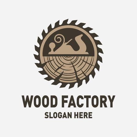 Inspiración para el diseño del logotipo de Wood Factory Logos