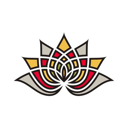 Lotus flower logo design