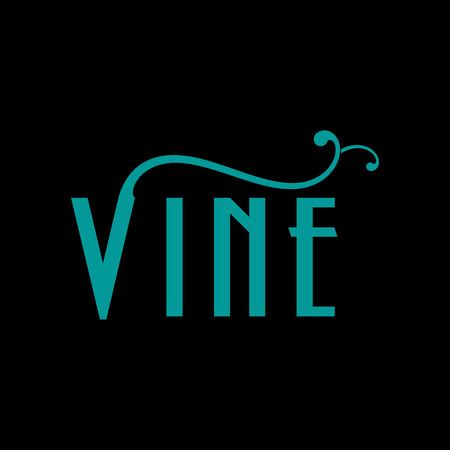 Vine Logo Design Inspiration Иллюстрация