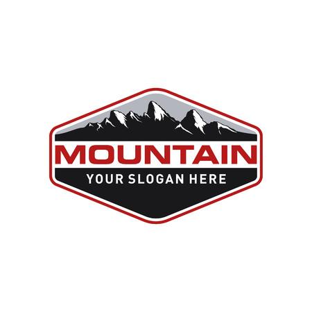 Vintage Mountain Logo Template